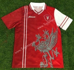Retro Version 1998-1999 AC Perugia Home Red Thailand Soccer Jersey AAA-503