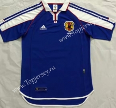 Retro Version 2000-2001 Japan Home Blue Thailand Soccer Jersey AAA-510