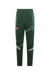 2020-2021 Atletico Madrid Green Thailand Training Soccer Jacket Long Pants-LH