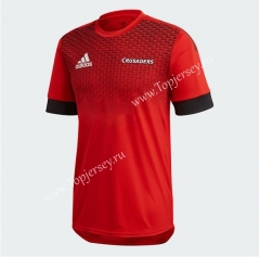 2020 Crusader Red Thailand Rugby Jersey