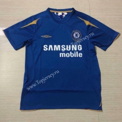 100th Anniversary Edition Chelsea Home Blue Thailand Soccer Jersey AAA-503