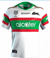 2020 South Sydney Rabbitohs White Thailand Rugby Jersey