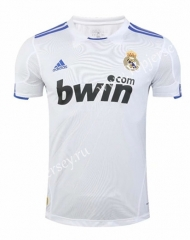 Retro Version 2010-2011 Real Madrid Home White Thailand Soccer Jersey AAA-SL