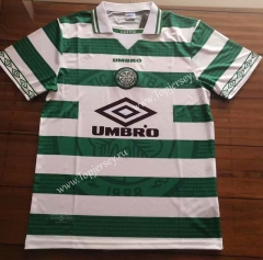 Retro Version 1998 Celtic White&Green Thailand Soccer Jersey AAA-912