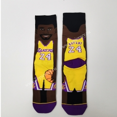 Black NBA Normal Socks