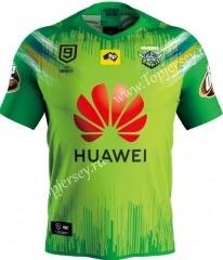 2020 Raiders Green Thailand Rugby Jersey