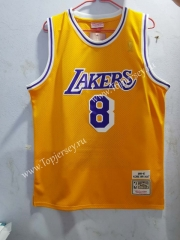 Honor Edition Los Angeles Lakers Yellow #8 NBA Jersey