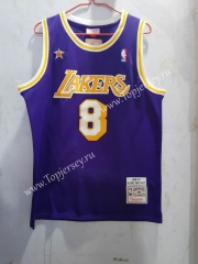 98 Honor Edition Los Angeles Lakers Purple #8 NBA Jersey