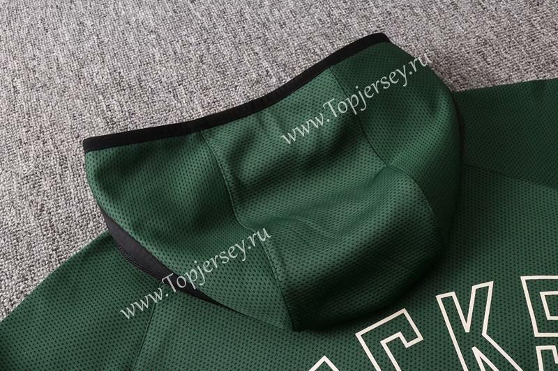 2020-2021 NBA Milwaukee Bucks Green Jacket Uniform With ...