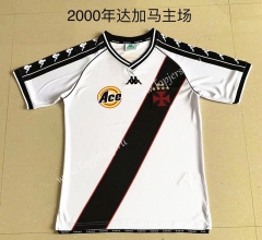 Retro Version 2000 CR Vasco da Gama Home White Thailand Soccer Jersey AAA-709