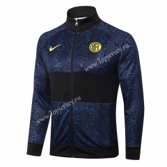 2020-2021 Inter Milan Royal Blue Thailand Soccer Jacket -815