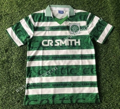 Retro Version 1995-1997 Celtic Home White&Green Thailand Soccer Jersey AAA-503