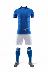 Without Logo 2020-2021 Italy Home Blue Soccer Uniform