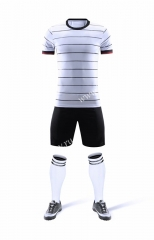 Without Logo 2020-2021 Germany Home White Soccer Uniform