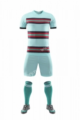 Without Logo 2020-2021 Portugal Away Green Soccer Uniform