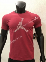 Jordan Red NBA Cotton T-shirt