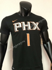 Phoenix Suns Black #1 NBA Cotton T-shirt