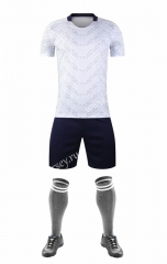 Without Logo 2020-2021 Italy Away White Soccer Uniform
