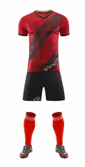 Without Logo 2020-2021 Belgium Home Red Soccer Uniform