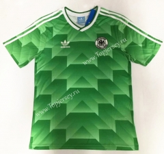Retro Version 1990 Germany Green Thailand Soccer Jersey AAA-912