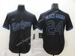 Los Angeles Dodgers Royal Blue #24 Baseball Jersey