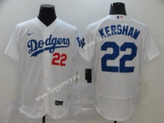 Los Angeles Dodgers White #22 Baseball Jersey