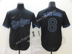 Los Angeles Dodgers Royal Blue #8 Baseball Jersey