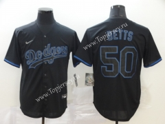 Los Angeles Dodgers Royal Blue #50 Baseball Jersey