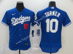 Los Angeles Dodgers Blue #10 Baseball Jersey