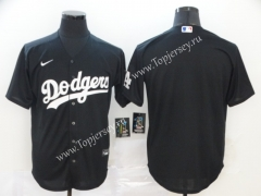 Los Angeles Dodgers Black Baseball Jersey