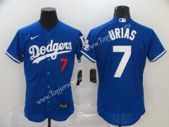 Los Angeles Dodgers Blue #7 Baseball Jersey