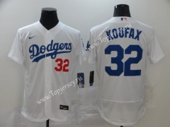 Los Angeles Dodgers White #32 Baseball Jersey