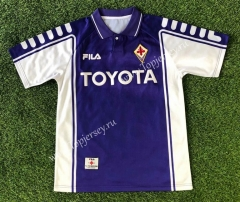 Retro Version 1990-2000 Fiorentina Purple Thailand Soccer Jersey AAA-503
