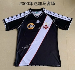 Retro Version 2000 CR Vasco da Gama Away Black Thailand Soccer Jersey AAA-AY