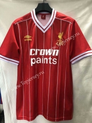Retro Version 1984 Liverpool Home Red Thailand Soccer Jersey AAA-905