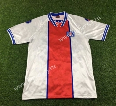 Retro Version 1994-1995 Paris SG Away White Thailand Soccer Jersey AAA-503