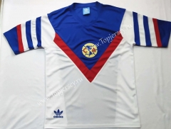 Retro Version 1987 Club América Away White Thailand Soccer Jersey AAA-912