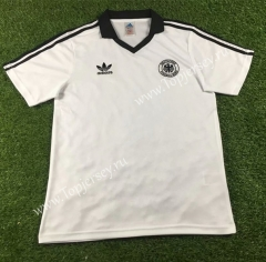 1980 Retro Version Germany Home White Thailand Soccer Jersey AAA-503