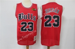Limited Version Chicago Bulls Red #23 Old English Faded NBA Jersey