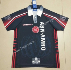 Retro Version 1998 Ajax Away Royal Blue Thailand Soccer Jersey AAA