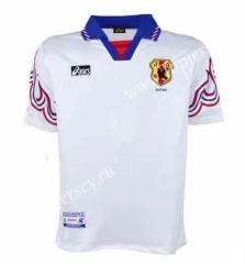 Retro Version 1996 Japan Away White Thailand Soccer Jersey AAA