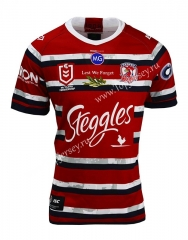 2021 Commemorative Edition Sydney Roosters Red Thailand Rugby Shirt