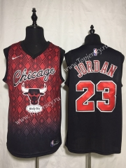 Joint Version Chicago Bulls Black&Red #23 NBA Jersey