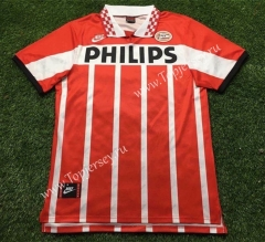 Retro Version Eindhoven Home Red Thailand Soccer Jersey AAA-503