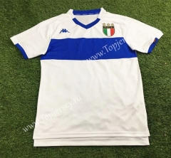Retro Version 1998-2000 Italy White Thailand Soccer Jersey AAA-503