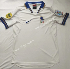 Retro Version 1996 Italy Away White Thailand Soccer Jersey AAA-912