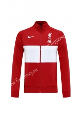 2020-2021 Liverpool Red&White Thailand Soccer Jacket -LH