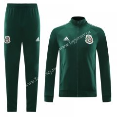 2020-2021 Mexico Green (Ribbon) Thailand Soccer Jacket Unifrom-LH