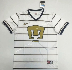Retro Version Pumas UNAM Away White Thailand Soccer Jersey AAA-912