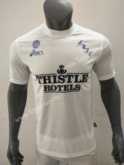 Retro Version 1995-1996 Leeds United Home White Thailand Soccer Jersey AAA-416